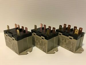 Omron Enclosed Power Relay lot Of 3 6 Pn 12vdc G7l 2a tubj cb New Electric