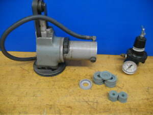 Moore Jig Grinder Slot Grinder 1 Hub Air Operated Wheels Regulator