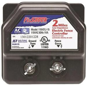 New Fi shock Ea2m fs Low Impedance Ac Power Electric Fencer Charger 6976674