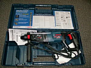 New Bosch 11255vsr Sds Bulldog Xtreme Rotary Hammer Drill Hard Case 8 0a
