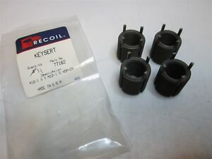 Recoil 77162 Carbon Steel Thread Locking Insert M16x1 50mm Int Sz Pack Of 4