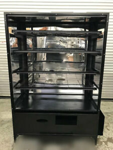 48 Dry Glass Bakery Display Case Wire Rack 8954 Donut Bread Retail Self Serve