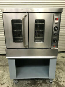 Single Deck Gas Convection Oven Montague 115a 8956 Commercial Restaurant Bakery