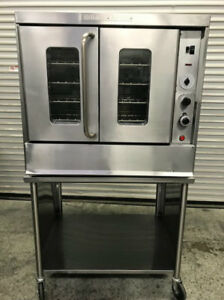Single Deck Gas Convection Oven Montague 115a 8961 Commercial Restaurant Bakery