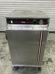 Insulated Half Height Heated Warmer Cabinet Nsf Bevles Work Top 8966 Commercial