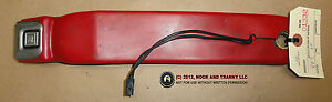 84 96 Corvette C4 Seat Belt Receptacle Receiver Red Lh Used 01332
