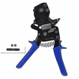 Yescom Pex One Hand Cinch Clamp Tool Ratchet Pinch Crimping Wrench 3 8 To 1