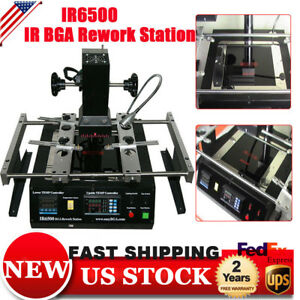 Ir6500 Infrared Bga Rework Reballing Station Repair Heat Reflow Soldering Welder