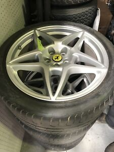 Ferrari 599 Gtb Rim And Tires Set Of 4 211025