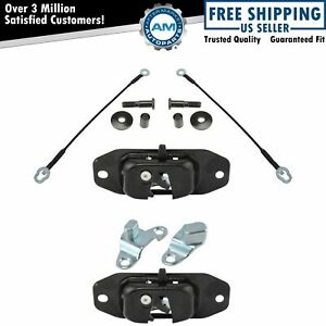 Tailgate Tail Gate Repair Kit W Latch Cable Hinge Striker Bolt For Chevy Gmc