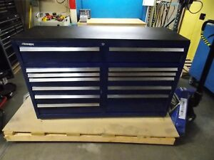 Kennedy 12 Drawer Steel Roller Cabinet 57 1 4 X 43 1 2 X 20 5804mpbl Repair