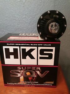New Hks Bov Sqv Iv Blow Off Valve black Ships From The Usa Fast Shipping