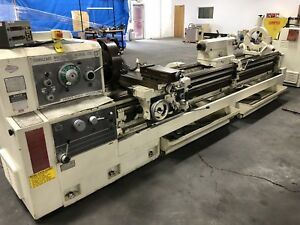 Mazak Heavy Duty 24 120 Engine Lathe 24 x120