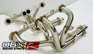 Obx Stainless Exhaust Header For 1963 1982 Chevrolet Corvette 283 400 Cid