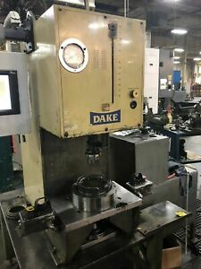 Dake 8 Ton C frame Hydraulic Press With Force Monitor