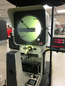 14 Deltronic Dh214 Optical Comparator Dro Edge Surface Cabinet Base