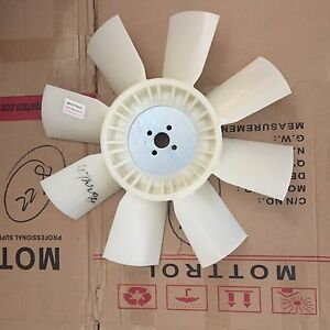 Fan Cooling Ym123910 44742 For Komatsu Backhoe Wb140 2 Wb150 2 Wb140 2t Wb140 2n