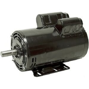 23378805 Ir Replacement 5 Hp Air Compressor Motor 3450 Rpm 24 9 Amp 208 230v