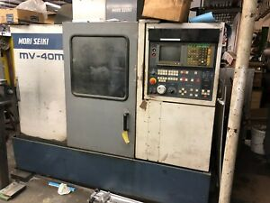 Mori Seiki Mv 40m Used And Working Condition Vertical Milling Cnc 1994 Atc