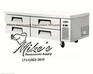 New 72 4 Drawer Nsf Refrigerated Chef Base Atosa Mgf8453 4710 Equipment Stand