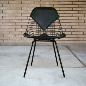 Authentic Herman Miller Wire Chair Dkx Dkr Eames
