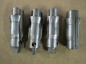 Browne Sharpe P w Lot Of 4 Tapered Tool Holders 7 5 9 10