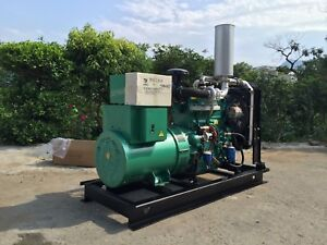 New 30kw Single Phase 60hz 50hz Diesel Powered Generator Shipped By Sea To Port