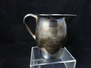 Reed And Barton Silver Pitcher 10 Oz Creamer Size