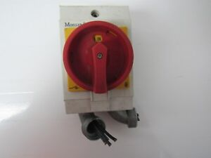 Moeller T0 2 1 Disconnect Switch W Enclosure