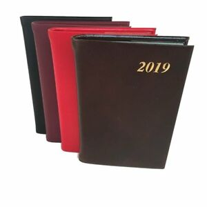 Charing Cross 2019 Diary D742c 4x2 Calf Leather Pocket Calendar Planner