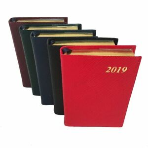 Charing Cross 2019 Diary D142l 4x2 One Day Per Page Leather Calendar Planner