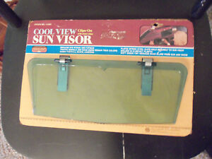 Nos Vintage Clip On Sunvisor From Hollywood Accessories Classic Rat Rod Truck