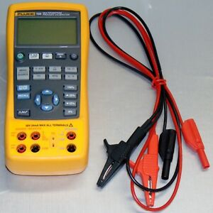 Fluke 725 Multifunction Process Calibrator With Case And Leads