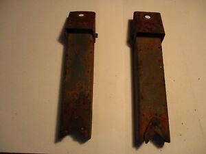 1937 1938 Chevrolet Gmc Truck Factory Hood Stands Props Chevy
