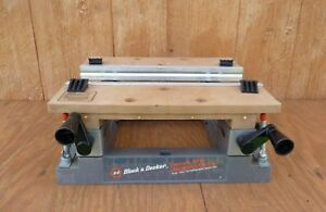 BLACK & DECKER Workmate 79-020 Bench Top Work Center & Vise Clamp On Bench