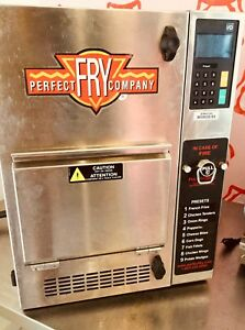 Perfect Fry Pfc570 208v Electric Hoodless Countertop Ventless Fryer Semi automat