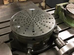 12 Troyke Model Bh12 Horizontal Mount Rotary Table