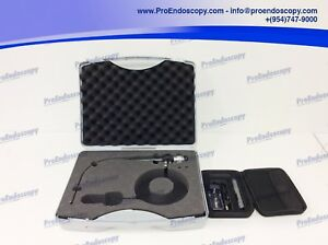 Karl Storz 11101rp2 Flexible Rhinolaryngoscope W Case Led Mini Light Source