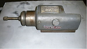 Heald Red Head Grinding Spindle Model 47 1b 12 5k Rpm Spindle