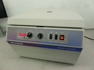 Beckman Allegra 6 Bench Top Centrifuge With Rotor
