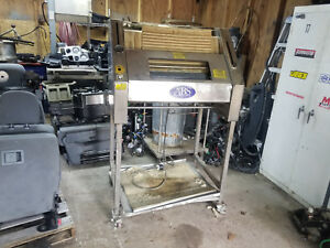 Abs Sm380 Bakery Baguette Bread Dough Moulder Stainless Sheeter Sinmag Parts fix