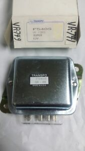 Transpo F540s 1 J N 230 14007 Voltage Regulator Ford Super F540s 12v Nos Usa