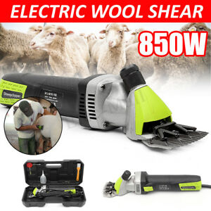 220v 850w Electric Sheep Goats Shearing Clipper Animal Trimmer Farm Equipment