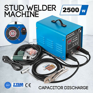 Capacitor Discharge Stud Bolt Plate Welder Machine Machinery Parts Signs Welding