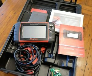 Snap On Solus Ultra Obd Scanner 17 2 Version W Euro And Euro Kit Preowned