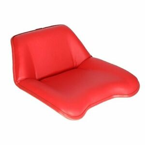 Pan Seat Vinyl Red David Brown 1212 885 1410 1412 1210 996 995 990 K947414