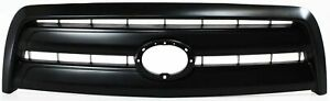 Grille For 2003 2006 Toyota Tundra Base Model Regular access Cab Black Plastic