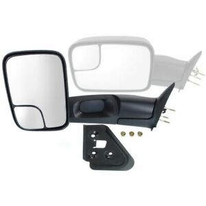 Kool Vue Towing Mirror For 94 2001 Dodge Ram 1500 94 2002 Ram 2500 Driver Side