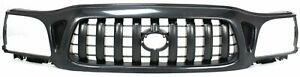 Grille For 2001 2004 Toyota Tacoma Textured Black Plastic