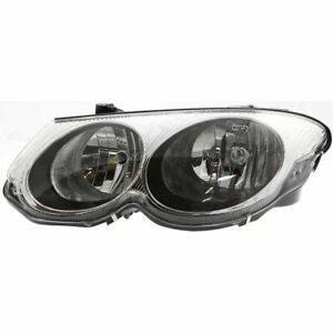 Headlight For 99 2004 Chrysler 300m Driver Side W Bulb